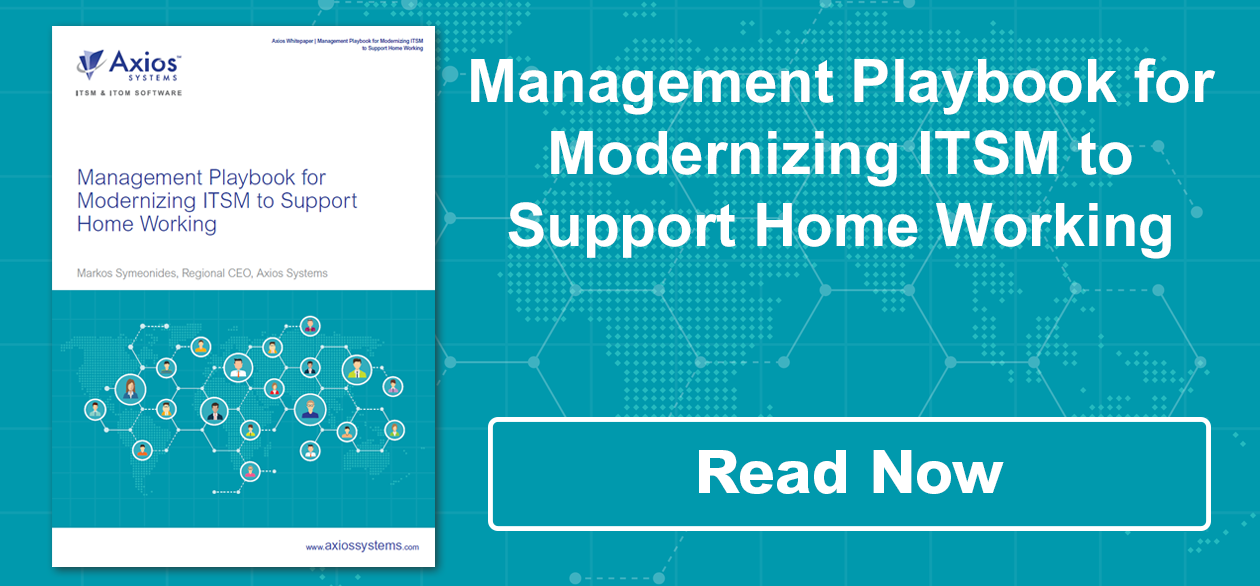 Management Playbook for Modernizing ITSM to Support Home Working