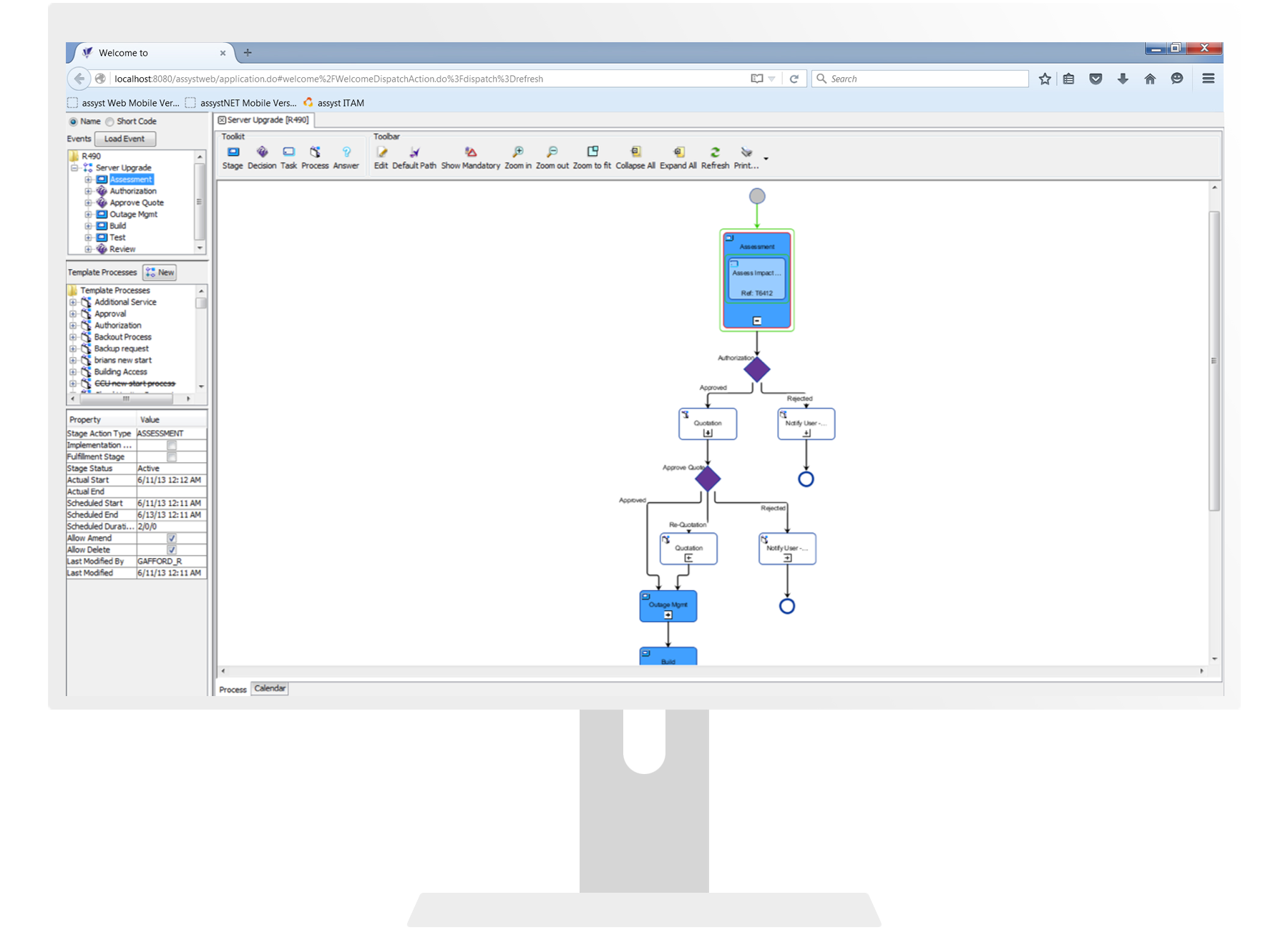 Drag-and-drop IT process design makes IT automation easy