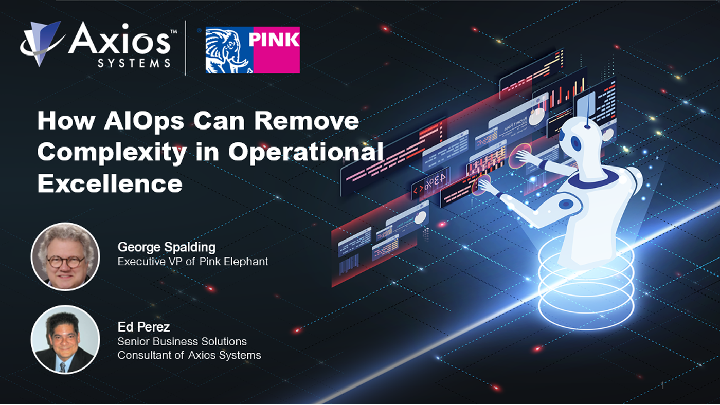 How AIOPS can remove complexity in Operational Excellence