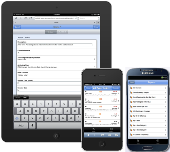 Mobile field agent tools