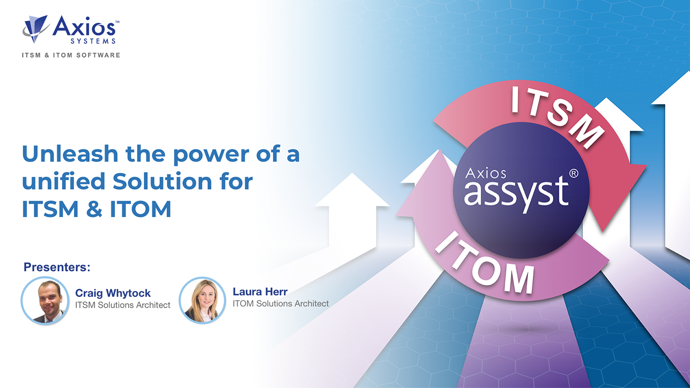 Unleash the power of a unified Solution for ITSM & ITOM