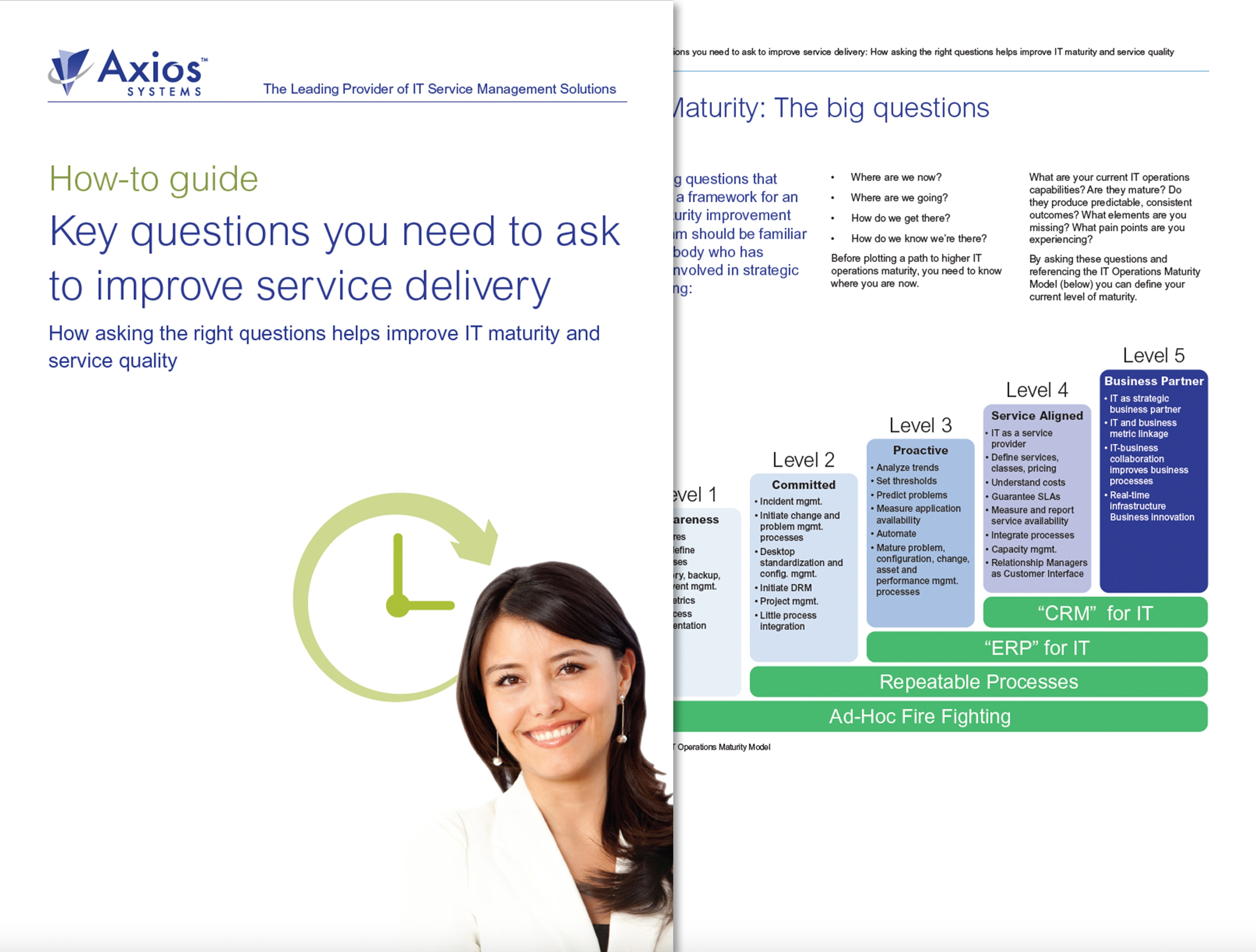 IT whitepaper: Key questions you need to ask to improve IT service delivery