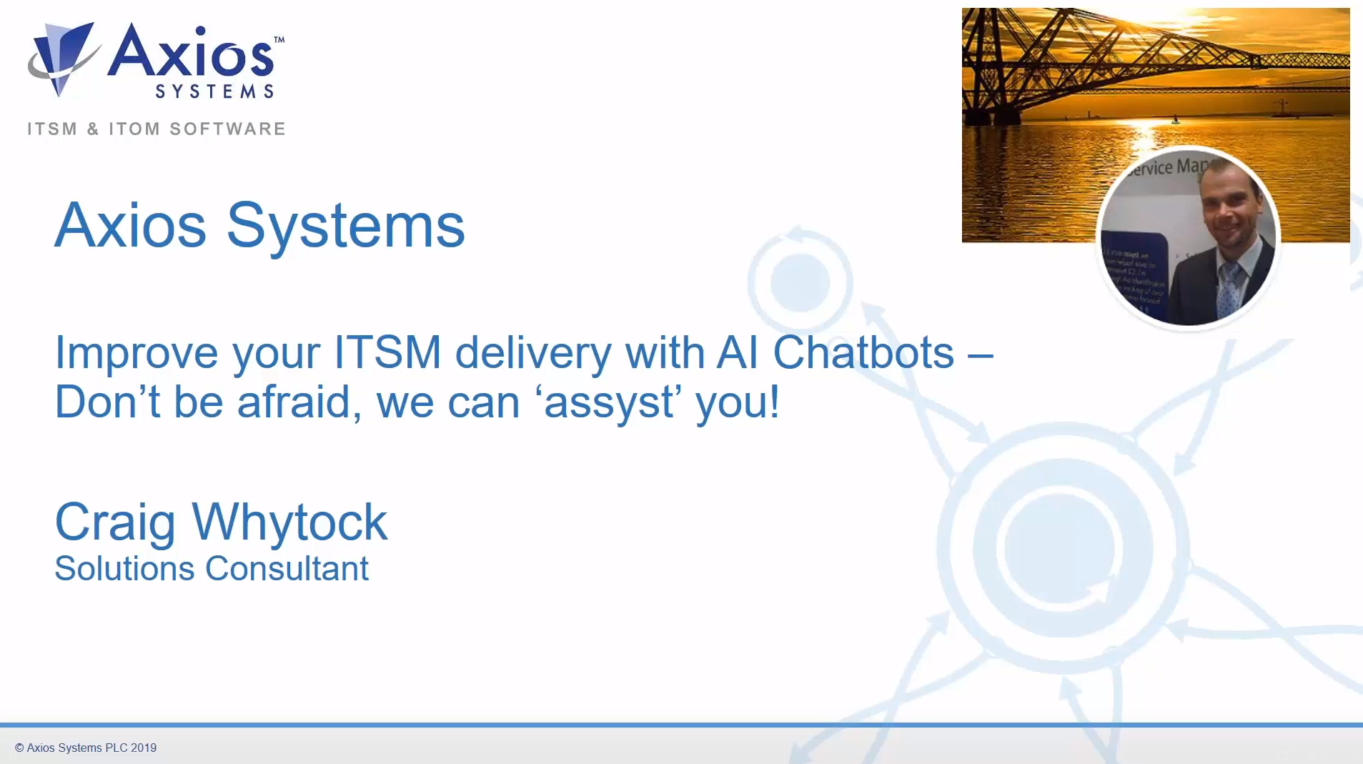 Webinar: Improve your ITSM delivery with AI Chatbots