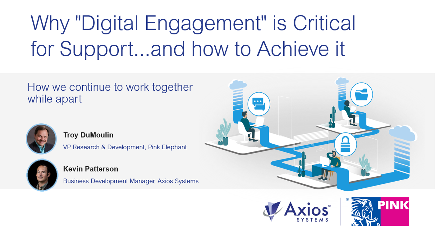 why digital engagement is critical for support cover image